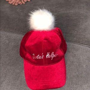 Santa's helper baseball cap